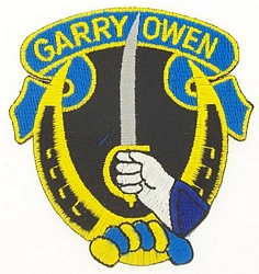 Garry Owen Patches